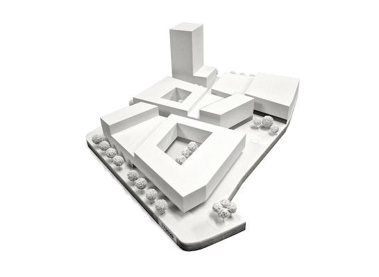 1. Preis: Modellfoto, © CODE UNIQUE Architekten BDA