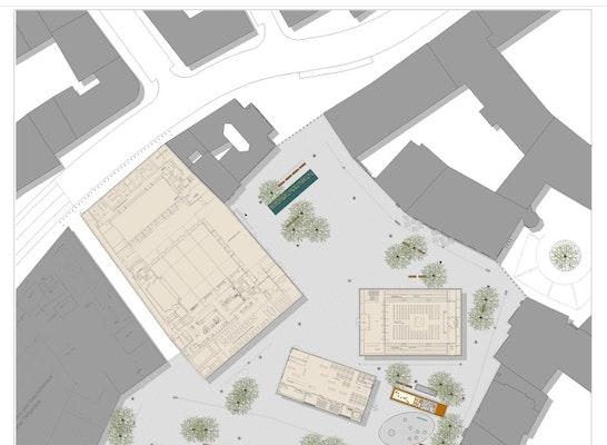 St Platz München result neugestaltung der platzfläche am sankt jako competitionline