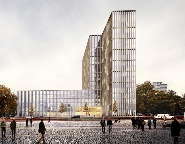 Neubau des LVR-Hauses am Ottoplatz