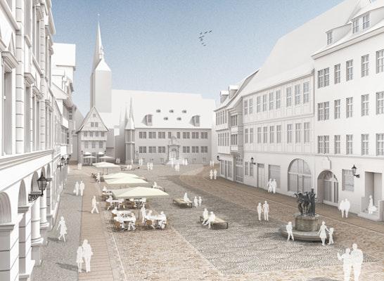 Innenarchitekt Quedlinburg anerkennung marktplatz quedlinburg competitionline