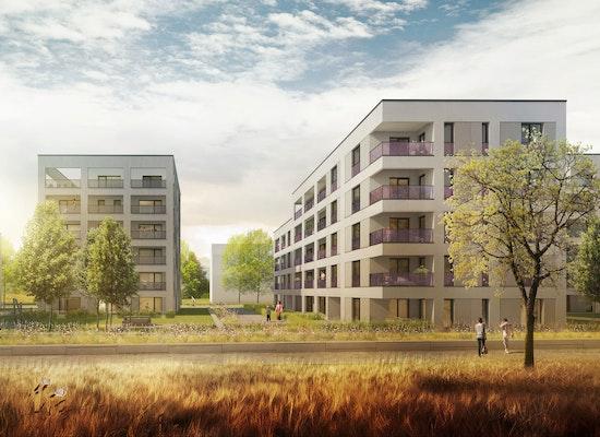 projekt wohnen am hubland w rzburg competitionline. Black Bedroom Furniture Sets. Home Design Ideas