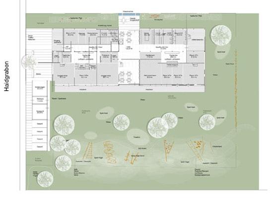 Gesamtplan Freiflächen