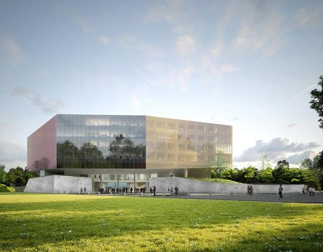 Neues Justizgebäude - Nouveau palais de justice