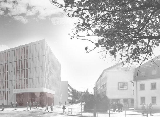 Neubau Technikum Wests 228 Chsische Hochschule Zwickau