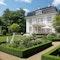 Garten zu einer denkmalgeschützten Villa