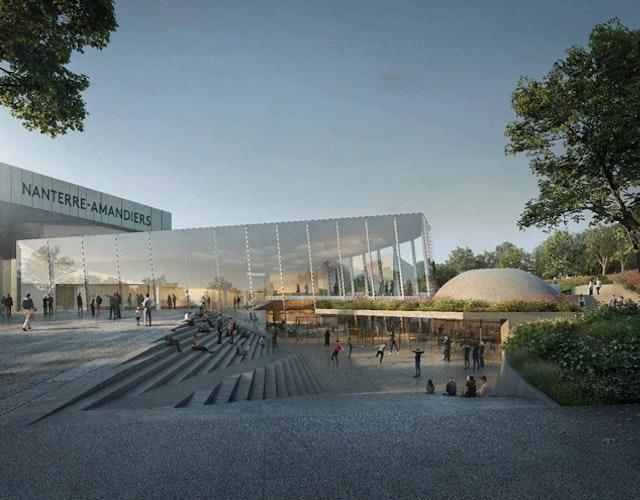 Renovierung des Theaters in Nanterre-Amandiers / Réhabilitation et transformation du Centre Dramatique National Nanterre-Amandiers
