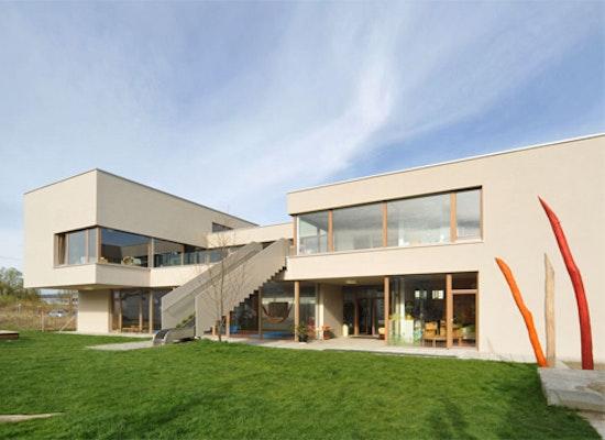 Auszeichnung: Neubau Kindertagesstätte Krümelkiste Stromeyersdorf, LANZ · SCHWAGER  ARCHITEKTEN BDA