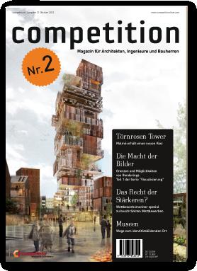 Quot Competition Quot Magazin F 252 R Architekten Ingenieure Und